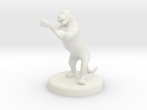 Cora Faral (Tigress - Feral State) in White Natural Versatile Plastic