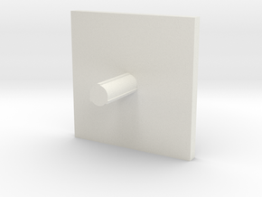 Cap 19 version 3 in White Natural Versatile Plastic
