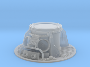 Apollo CM Parachute Storage Bay 1:32 in Smooth Fine Detail Plastic
