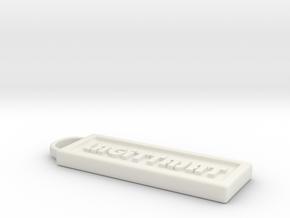 avain in White Natural Versatile Plastic