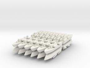 9-misBoat x24 in White Natural Versatile Plastic