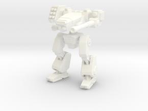 Terran Combat Walker in White Strong & Flexible Polished