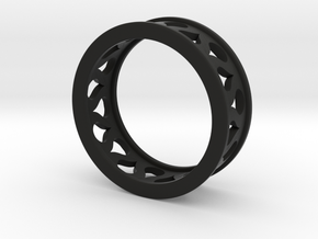 Droplet Ring in Black Strong & Flexible