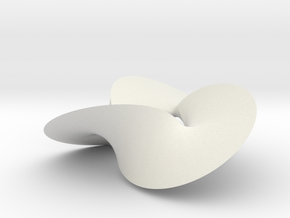 Trefoil Contact Set (Color) in White Natural Versatile Plastic