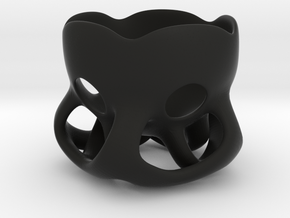 Egg-Cup in Black Strong & Flexible