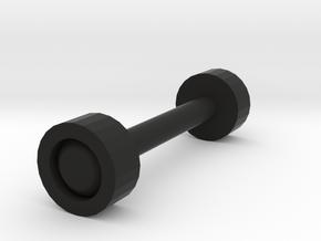 Wheel_test Wheel in Black Strong & Flexible