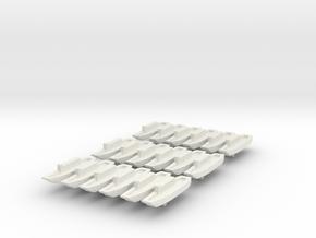 9-LCU x18 in White Natural Versatile Plastic