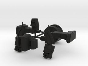 WST Little Green Robo in Black Strong & Flexible