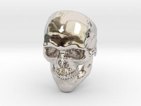 Mammoth Skull Ring! in Platinum