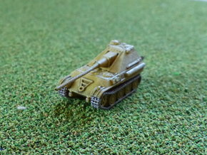 German Jagdpanther II Project 1/285 6mm in Smooth Fine Detail Plastic