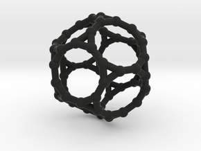 Truncated dodecahedron in Black Strong & Flexible