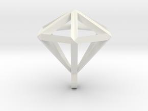 Diamant pendant in White Strong & Flexible