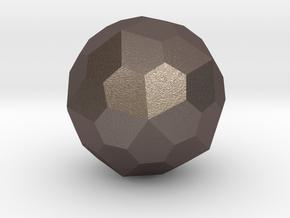Pentagonal Hexecontahedron in Stainless Steel