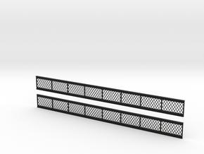 OO Lattice Girders 200mm in Black Strong & Flexible