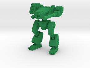 Terran Combat Walker in Green Strong & Flexible Polished