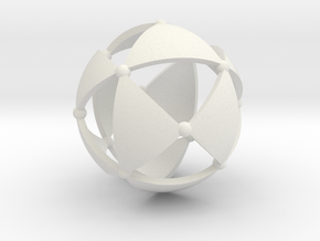 Tetrahedral group T in White Natural Versatile Plastic