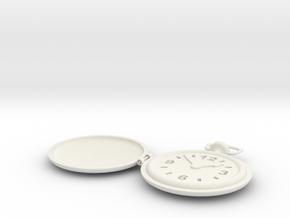 Watch in White Natural Versatile Plastic