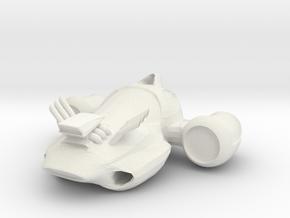 test in White Natural Versatile Plastic