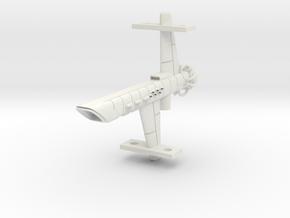 Mulcien Pavonis Class Carrier in White Natural Versatile Plastic