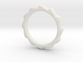 Vortex Ring in White Strong & Flexible