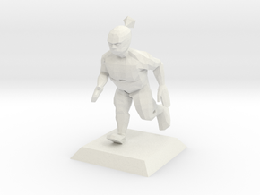 GREENIE character from Bruce videogame in White Natural Versatile Plastic