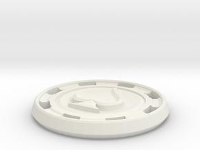 Picche in White Natural Versatile Plastic