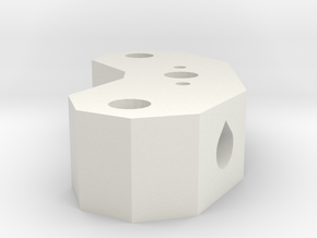 Frame Vertex in White Natural Versatile Plastic
