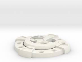 Celtic in White Natural Versatile Plastic