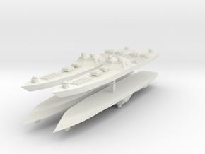 9 Arsenal 1:6000 x4 in White Natural Versatile Plastic