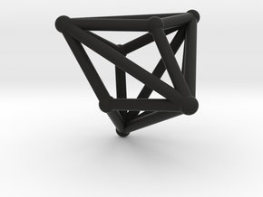 Triakistetrahedron in Black Strong & Flexible