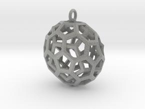 Quasi Duality Pendant in Metallic Plastic