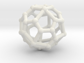 Pentagonal icositetrahedron in White Strong & Flexible
