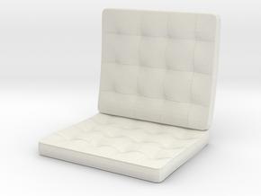 seat in White Natural Versatile Plastic