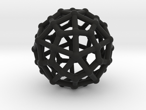 Deltoidal hexecontahedron in Black Strong & Flexible