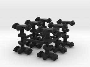 Mulcien Galaxius Class Heavy Fighter in Black Strong & Flexible