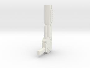 Wreckers gun 02 in White Strong & Flexible