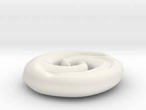 Koru in White Natural Versatile Plastic