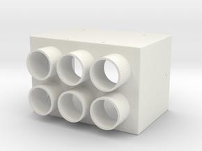 Tetracam replica in White Natural Versatile Plastic