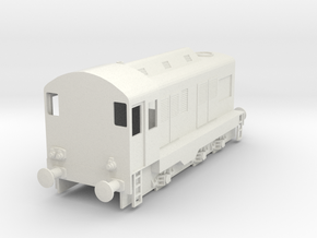 CIE E Class 401 OO Scale in White Natural Versatile Plastic