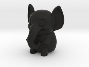 Elli the elephant in Black Strong & Flexible