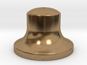 """3/4"""" Scale Bell in Natural Brass"""