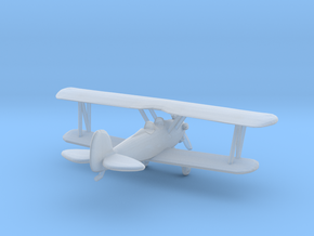 Biplane - Z scale in Smooth Fine Detail Plastic