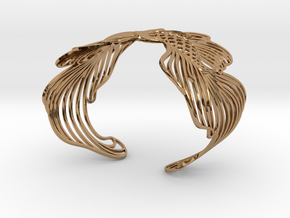 Pisces 16cm Bracelet (small) in Polished Brass