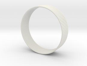 Sphere Bracelet in White Strong & Flexible