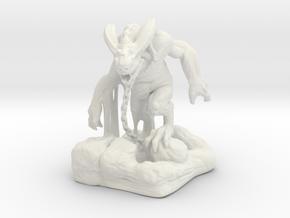 demon in White Natural Versatile Plastic