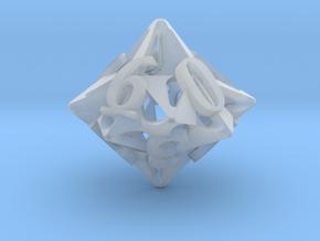 Pinwheel d10 in Smooth Fine Detail Plastic
