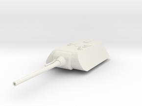 Maus Turret in White Natural Versatile Plastic