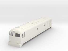 3mm Scale CIE A Class in White Natural Versatile Plastic