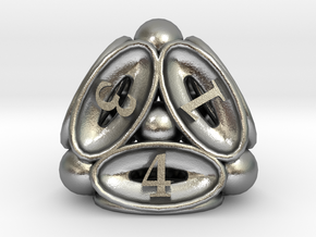 Spore d4 in Natural Silver