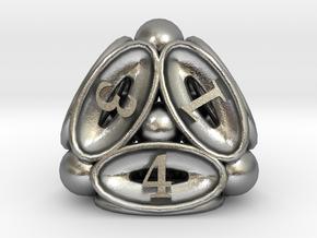 Spore Die4 in Natural Silver